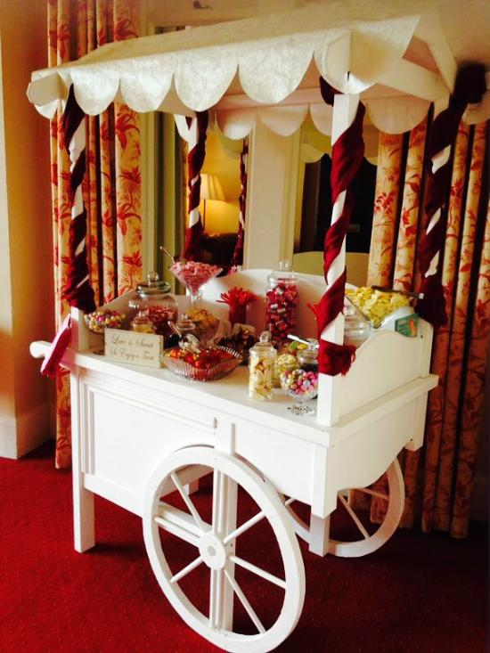 Occasions Tea Room Sweet Cart Hire