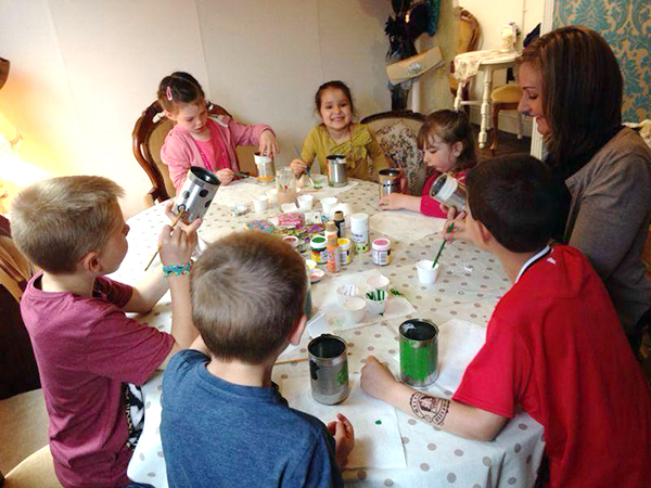 occasions tea room kids craft session