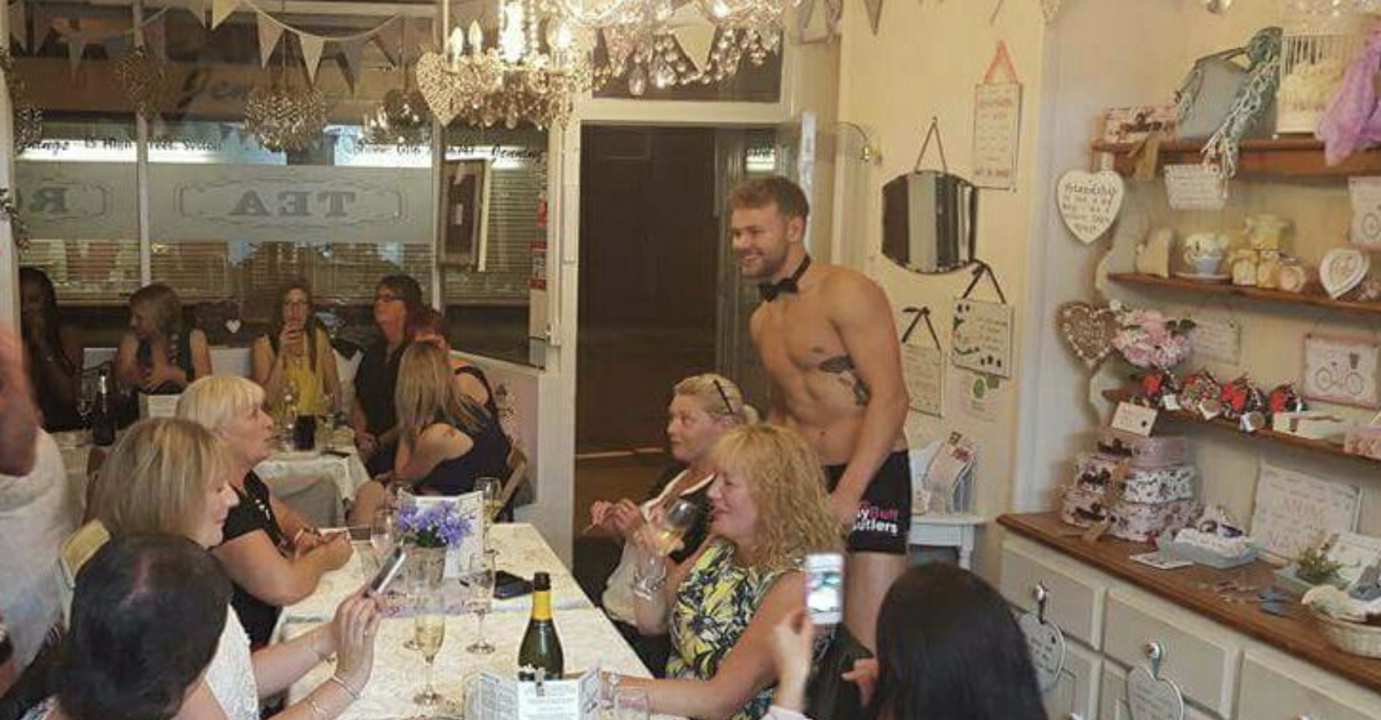Buff Butlers Occasions Tea Room